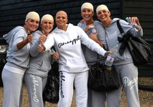 Jady Goody obit: Jade Goody and hen party