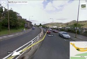 Google and Tate: Regent Rd, Edinburgh