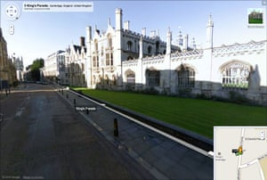Google and Tate: 9 King's Parade, Cambridge