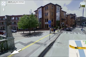 Google and Tate: Castle St, Cardiff