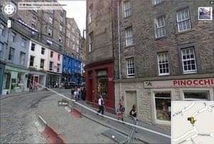 Google and Tate: 91 W Bow, Edinburgh