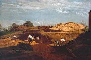 Google and Tate: Kensington Gravel Pits, 1811-12