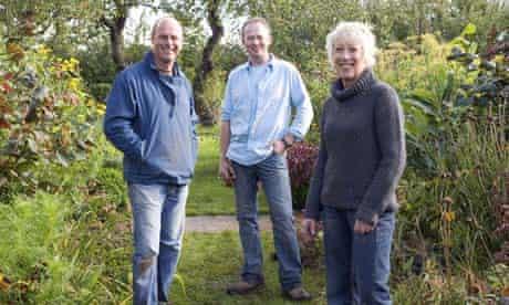 Joe Swift, Toby Buckland and Carol Klein in Gardeners' World