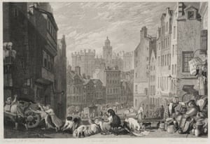 Google and Tate: Heriot's Hospital 1822 by Joseph Mallord William Turner
