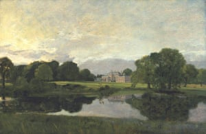 Google and Tate: Malvern Hall, Warwickshire 1809 by John Constable