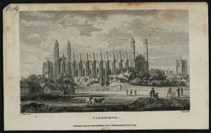 Google and Tate: Cambridge, engraved by Tagg published 1795 after JMW Turner