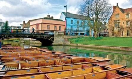 Cambridge, Bridge street - Quayside