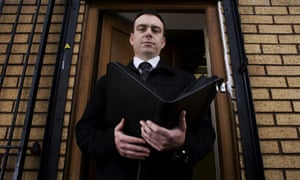 A Working Life The Bailiff Money The Guardian