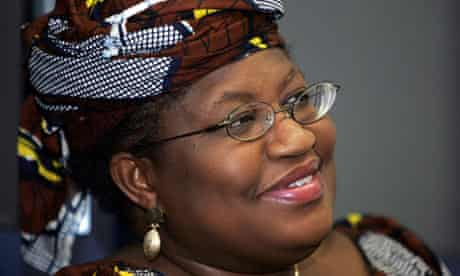 Ngozi Okonjo-Iweala, managing director of the World Bank