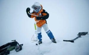 Catlin Arctic Survey: drilling the ice cap