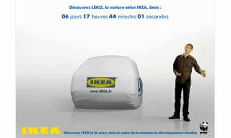 LEKO, an environmentally-friendly IKEA-branded concept car