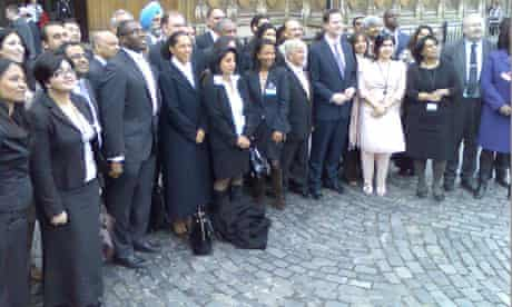 Gathering of ethnic minority candidates at the House of commons