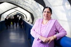 Muslim women: Bushra Nasir