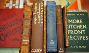 Various books and pamphlets published in previous times of austerity, in the Guildhall Library