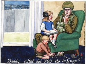 25.03.09: Steve Bell on Israel's war on Gaza