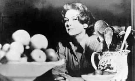 Celebrity cook Elizabeth David