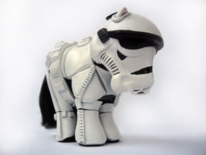 My Little Pony makeover: My Little Pony Stormtrooper