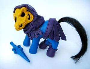 My Little Pony makeover: My Little Pony Skeletor
