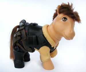 My Little Pony makeover: My Little Pony Han Solo