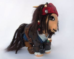 My Little Pony makeover: My Little Pony Pirates of the Caribbean Jack Sparrow
