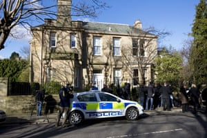 Goodwin  house vandalised:  Sir Fred Goodwin home attacked