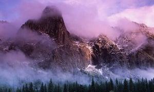 Cathedral Rocks, Yosemite, Sierra Nevada