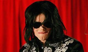 US popstar Michael Jackson