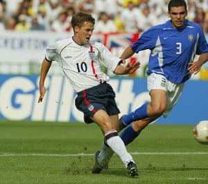 England Kits: Michael Owen 2002