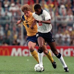 England Kits: Carlton Palmer England 1992