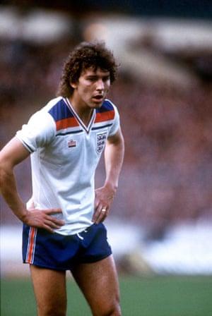 England Kits: Bryan Robson England 1982