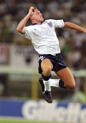 England Kits: Paul Gascoigne England 1990