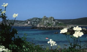 Annabelle Thorpe enjoys the isolation of the Scilly Isles