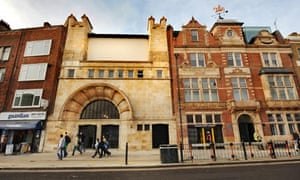 The front of the Whitechapel Gallery in east London