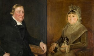 Portraits by the artist as a young man: Constable's parents