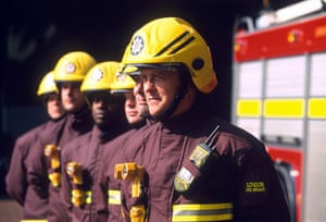 Firefighter uniforms: 1999: New London Fire Brigade uniform