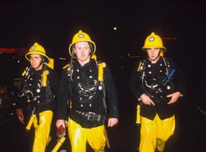 Firefighter uniforms: 1987: Firemen at Kings Cross