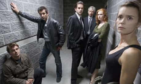 Cast of the French police drama series Spiral