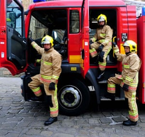 Fire Service uniforms: Launch to mark the rollout of a new uniform for the Fire and Rescue Service