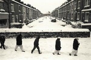 Unseen: British Pakistanis braving winter weather in Manningham, Bradford
