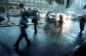 Unseen: Monsoon rain in Mumbai, India