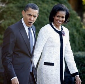 G20 partners: President Barack Obama and first lady Michelle Obama.