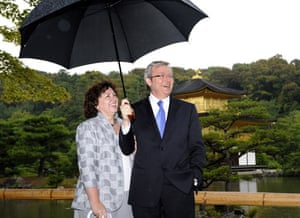 G20 partners: Australian Prime Minister Kevin Rudd and his wife Therese Rein.