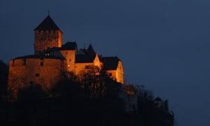 Liechtenstein's castle in Vaduz
