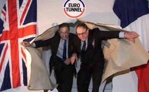 Eurotunnel : Engineers celebrate Eurotunnel 10th anniversary