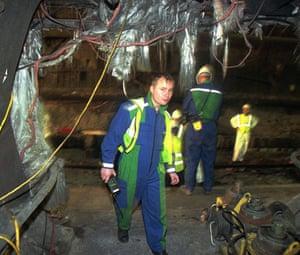 Eurotunnel : Channel Tunnel fire in 1996