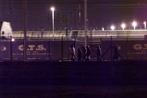 Eurotunnel : Would-be immigrants attempting to  stow away on Eutotunnel  trains