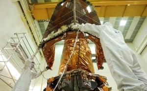 The Kepler Mission: Installation of the Kepler Solar Array