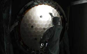 The Kepler Mission: Primary mirror honeycomb structure
