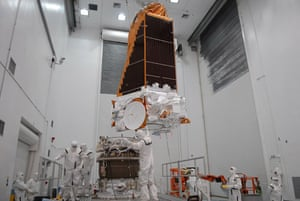 The Kepler Mission: Processing Facility at Astrotech