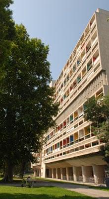 Le Corbusier's Unité d'Habitation, in Marseille
